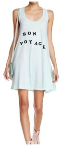 Wildfox short dress GREEN Racerback Racer-back on Tradesy