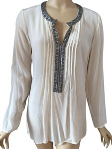 Tracy Reese Top Cream