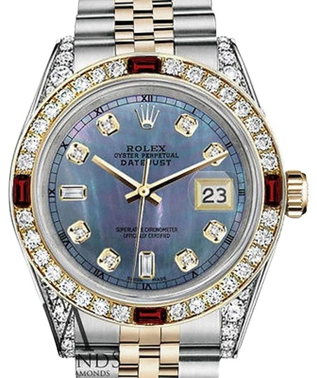 Preload https://img-static.tradesy.com/item/17150185/rolex-steel-and-gold-36mm-datejust-tahitian-mop-dial-ruby-and-diamond-watch-0-1-540-540.jpg