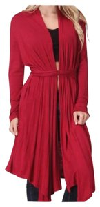 Other Boho Comfy Duster Seamless Tie Waist Cardigan