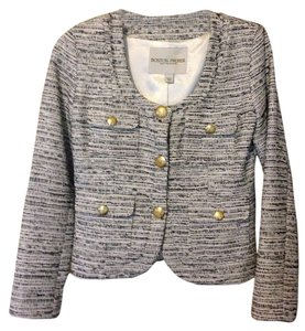 Boston Proper Jacket New Work Date Night Wedding Cocktail Tweed Blazer