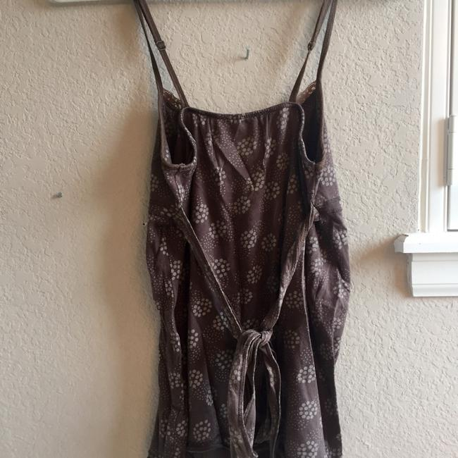 Abercrombie & Fitch Back Tie Summer Layering Top Brown Image 1