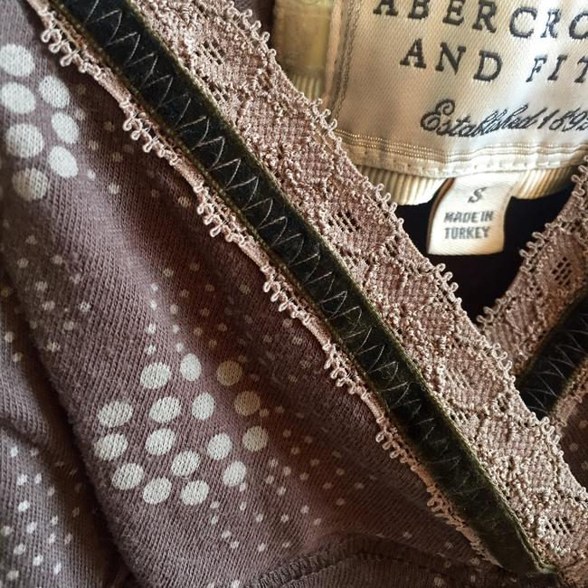 Abercrombie & Fitch Back Tie Summer Layering Top Brown Image 4