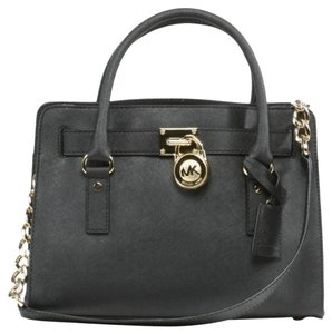Michael Kors Hamilton East West Satchel in Dark Chestnut