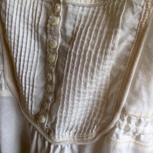 Abercrombie & Fitch Side Ties Button Down Vintage Top White Image 1