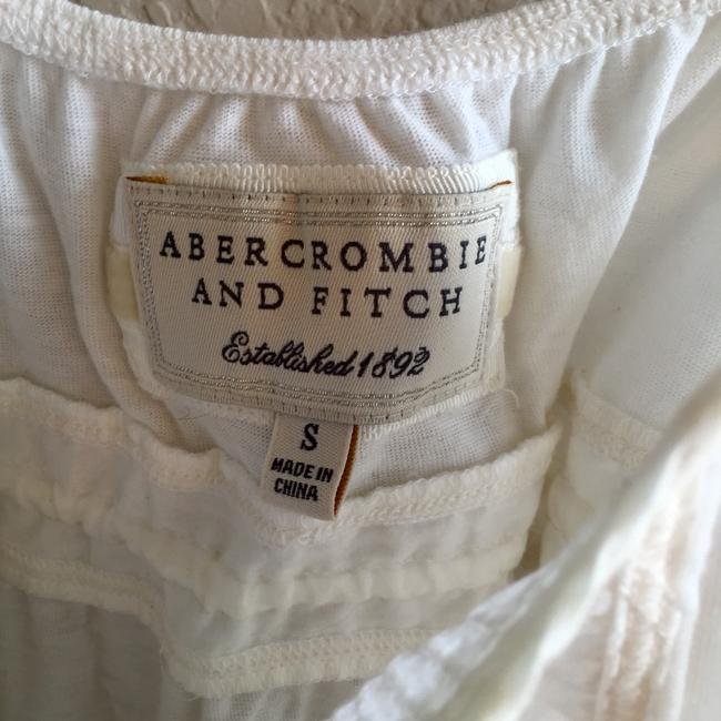 Abercrombie & Fitch Side Ties Button Down Vintage Top White Image 2