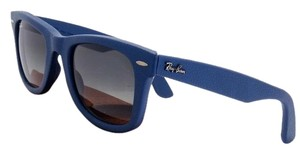 Ray-Ban Ray-Ban RB2140QM-116871 Wayfarer Leather Sunglasses