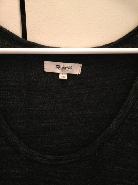 Madewell Top Blue Gray