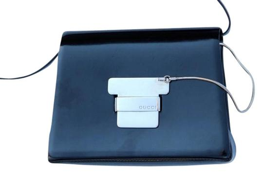 Gucci Guccissima Microguccissima Patent Leather Evening Vintage Shoulder Bag