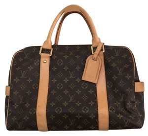 Louis Vuitton Carryall Monogram Leather Travel Bag