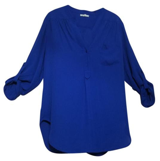 Pleione Blue Top - 56% Off Retail 80%OFF