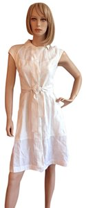 Narciso Rodriguez short dress white Linen Summer Designer on Tradesy