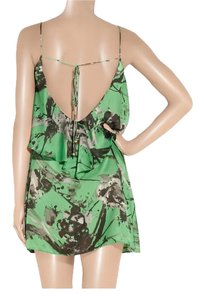 T-Bags Los Angeles Satin Mini Floral Date Summer Dress