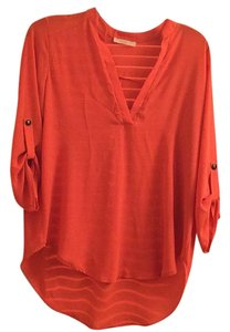 Nordstrom Top Coral/Peach
