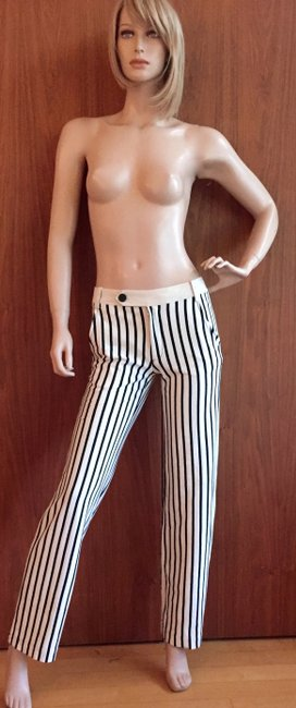 Derek Lam Straight Pants black and white Image 1