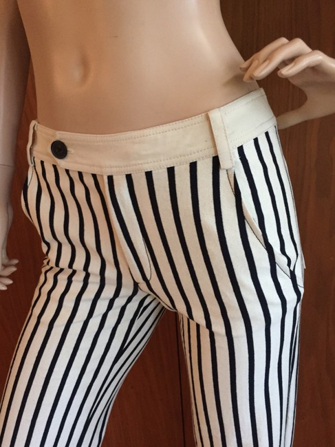 Derek Lam Straight Pants black and white Image 11