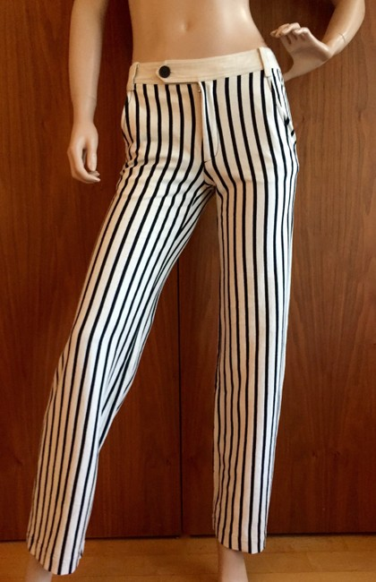 Derek Lam Straight Pants black and white Image 2