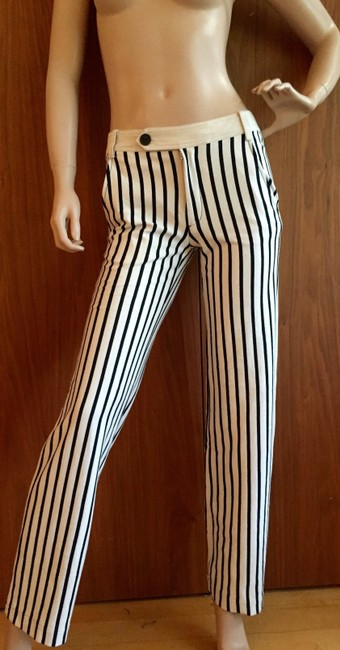 Derek Lam Straight Pants black and white Image 4