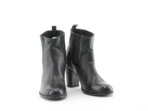 Penelope and Coco Leather New Black Boots