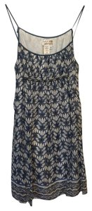 Max Studio short dress Blue and White on Tradesy