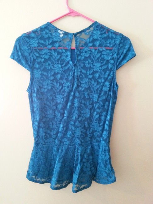 Moda International Top Teal