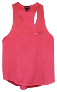 Prabal Gurung Racer-back Top Coral/Pink