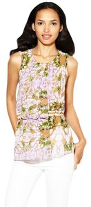 W118 by Walter Baker Sleeveless Top Mirrored Petals