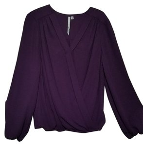 Bellatrix Polyester Top Purple