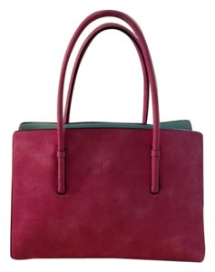 Tote in Pink Red