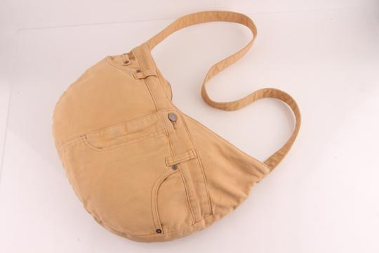 Marc by Marc Jacobs Denim Hobo Cross Body Bag Image 8