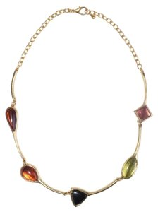 Other Enamel Ornate Collar Necklace
