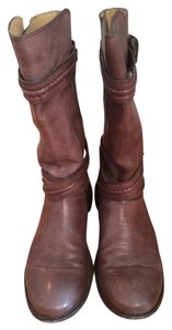Frye Casual Comfortable Midcalf Smoke Boots