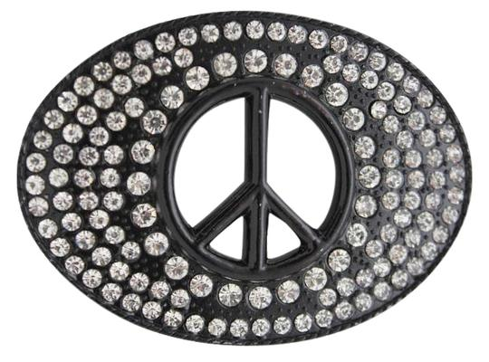 Preload https://img-static.tradesy.com/item/17160340/black-new-men-women-hippie-70-s-cool-metal-peace-sign-buckle-belt-0-1-540-540.jpg