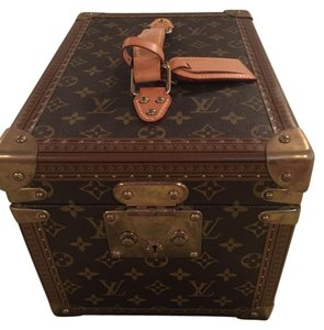 Louis Vuitton Trunk Case Brown Travel Bag