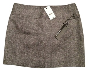 Express Mini Skirt Grey