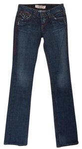 1921 Jeans Darm Denim Distressed Skinny Jeans-Dark Rinse