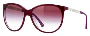 Chanel NEW CC 5169 Burgundy Mirrored Collection Oversized Silver Logo Sunglasses