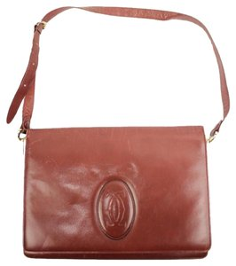 Cartier Crossbody Flap Classic Flap Shoulder Bag