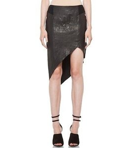 Helmut Lang Asymmetrical Skirt Black