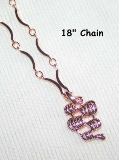 Rose Gold Bogo Free 9k Filled Chain and Pendant Free Shipping Necklace