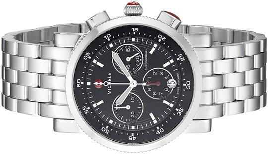 Michele Sport Sail Stainless Steel Black Dial Chronograph MWW01C000022 Image 9