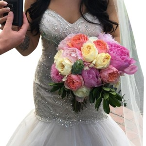 Jeweled Bridal Gown Wedding Dress