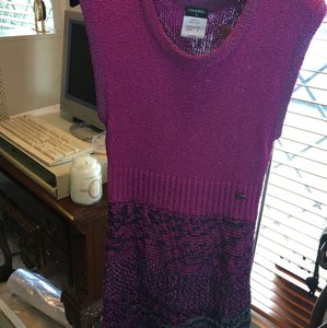 Chanel Boutique Purple Dress