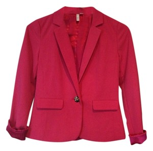 Frenchie Hot Pink Blazer