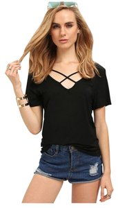 Sheinsider T Shirt Black