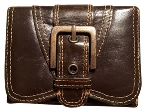 Nordstrom Nordstrom Brown Leather Trifold Wallet