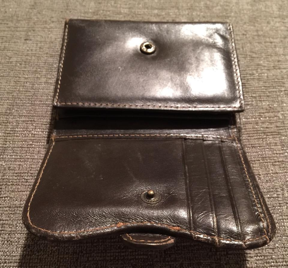 276e95521fb Nordstrom Nordstrom Brown Leather Trifold Wallet Image 8. 123456789