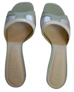 Bally light green with white Sandals