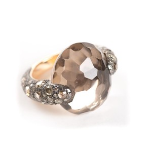 Pomellato Pomellato Tango Smoky Quartz Diamond Ring
