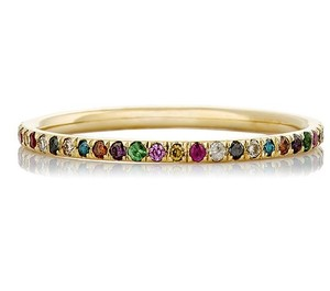 Ileana Makri Mixed-gemstone Thread Band